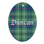 Tartan - Duncan Ornament (Oval)