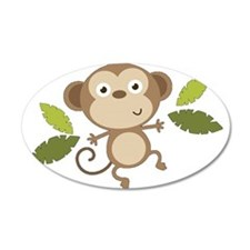Baby Monkey Wall Decal