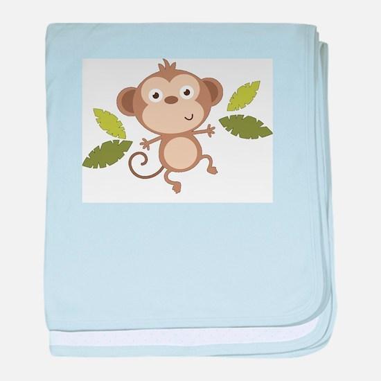 Baby Monkey baby blanket