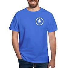 Shark Fin Logo Dark T-Shirt