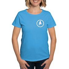Shark Fin Logo Women's Dark T-Shirt