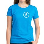 Shark Fin Logo Women's Dark T-Shirt