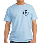 Shark Fin Logo Light T-Shirt