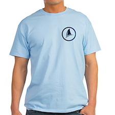 Shark Fin Logo Light T-Shirt
