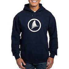 Shark Fin Logo Hoodie (dark)