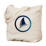 Shark Fin Logo Tote Bag