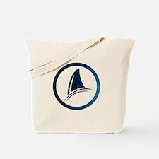 Shark Fin Logo Tote Bag