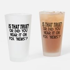 IS THAT TRUE? Drinking Glass
