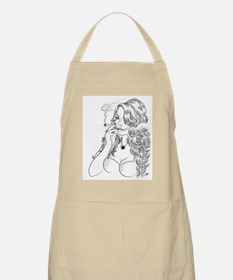 Smoking Hot Chick Apron