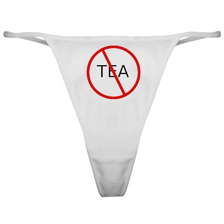 No More TEA Classic Thong