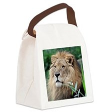 Lion010 Canvas Lunch Bag