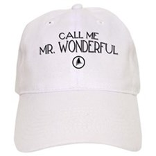 Call Me Mr. Wonderful Baseball Cap
