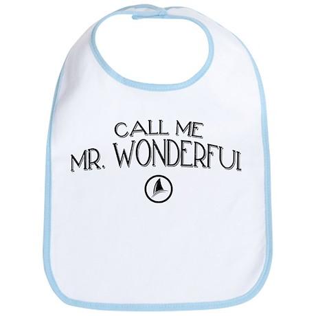 Call Me Mr. Wonderful Bib
