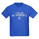 Call Me Mr. Wonderful Kids Dark T-Shirt