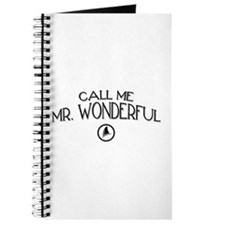 Call Me Mr. Wonderful Journal