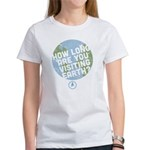 How Long Are You Visiting Earth Women's T-Shirt