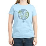 How Long Are You Visiting Earth Women's Light T-Sh