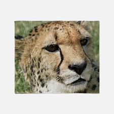 Cheetah006 Throw Blanket
