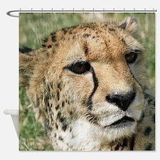 Cheetah006 Shower Curtain