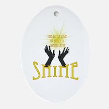 Shine Ornament (Oval)