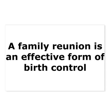 Birth Control Postcards (Package of 8)