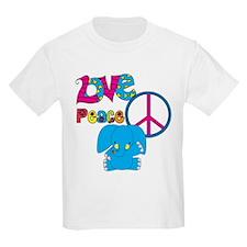 Love Peace Elephants T-Shirt