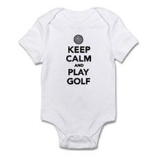 Keep calm and play Golf Infant Bodysuit