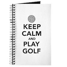 Keep calm and play Golf Journal