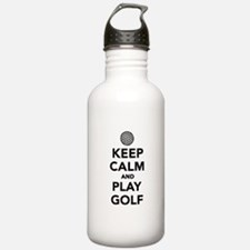 Keep calm and play Golf Water Bottle
