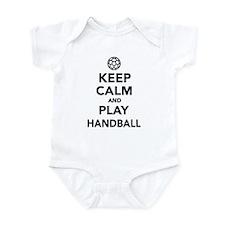 Keep calm and play Handball Infant Bodysuit