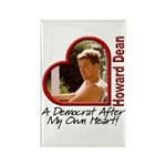 Young Howard Dean Rectangle Magnet (10 pack)