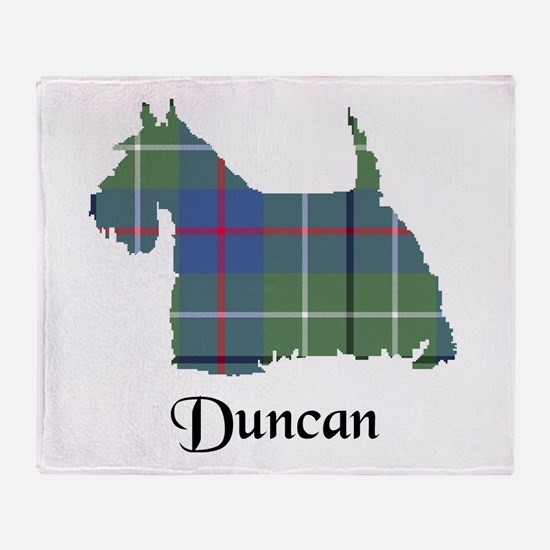 Terrier - Duncan Throw Blanket
