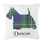 Terrier - Duncan Woven Throw Pillow