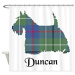 Terrier - Duncan Shower Curtain