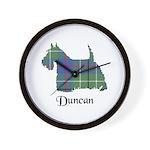 Terrier - Duncan Wall Clock