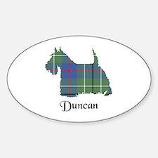 Terrier - Duncan Sticker (Oval)