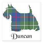 Terrier - Duncan Square Car Magnet 3