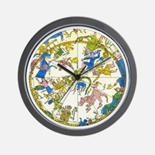 Vintage Celestial Map Wall Clock