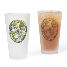 Vintage Celestial Map Drinking Glass