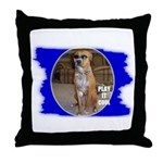 PLAY IT COOL (PIMP DAWG) Throw Pillow
