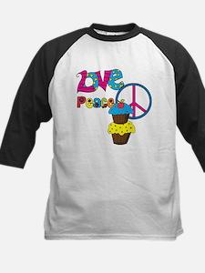 Love Peace Cupcakes Tee