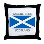 Tannochside Scotland Throw Pillow