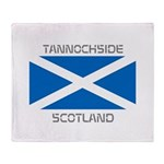 Tannochside Scotland Throw Blanket