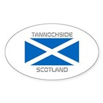 Tannochside Scotland Sticker (Oval 10 pk)