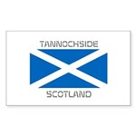 Tannochside Scotland Sticker (Rectangle 10 pk)
