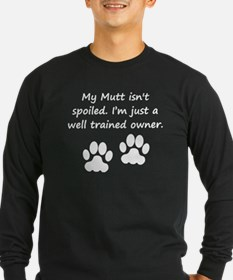 Well Trained Mutt Owner Long Sleeve T-Shirt