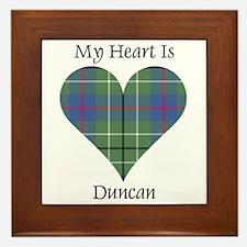 Heart - Duncan Framed Tile