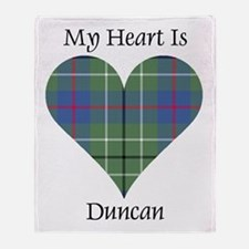 Heart - Duncan Throw Blanket