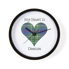 Heart - Duncan Wall Clock