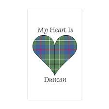 Heart - Duncan Decal